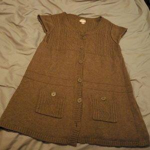 Brown Mossimo Supply Vest